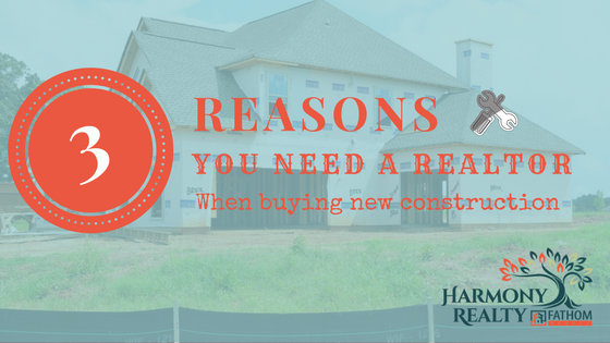 why use a realtor for new construction