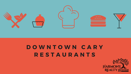 Downtown Cary, NC Restaurants.